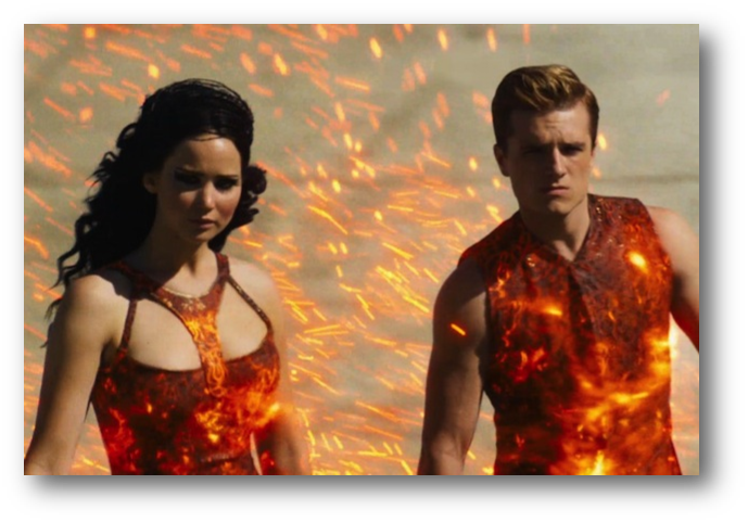 Movie Review: Catching Fire is on Fire