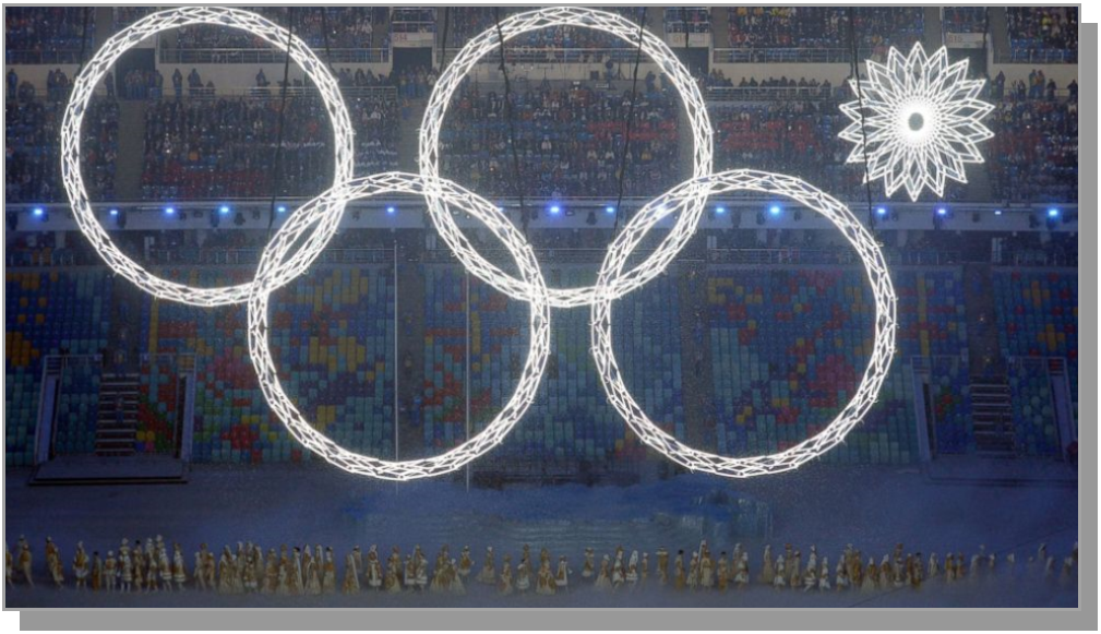 Sochi Olympic Ring Fail