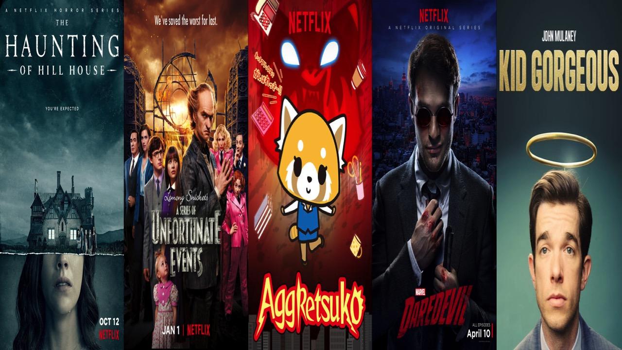 5 MORE Great Netflix Original Series