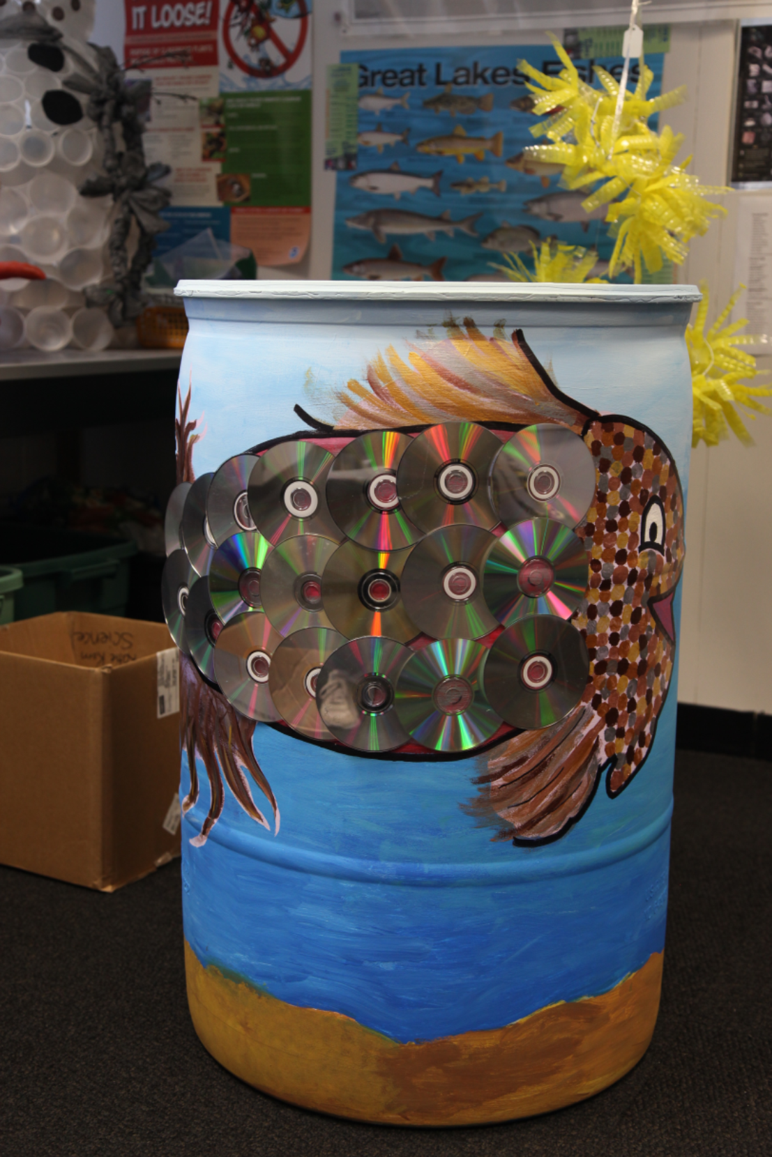 Project Green Wins  Third Place for Rain Barrel