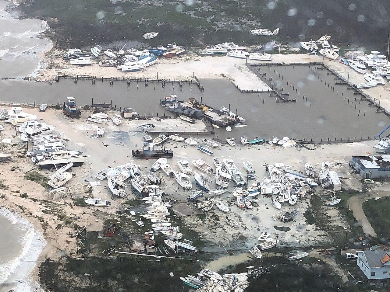 Hurricane Dorian Sweeps Through the Bahamas