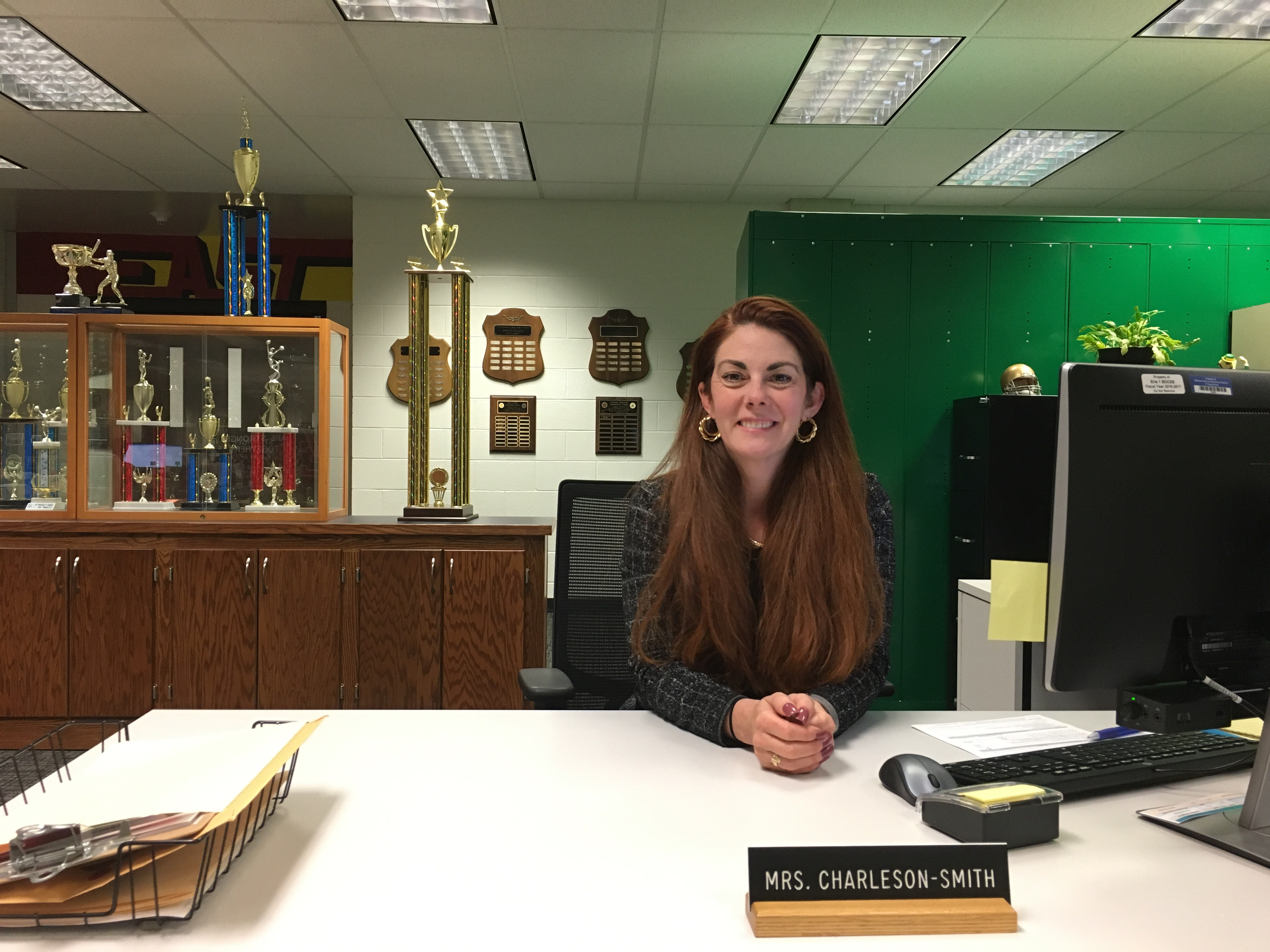 A few minutes with Mrs. Charleson-Smith