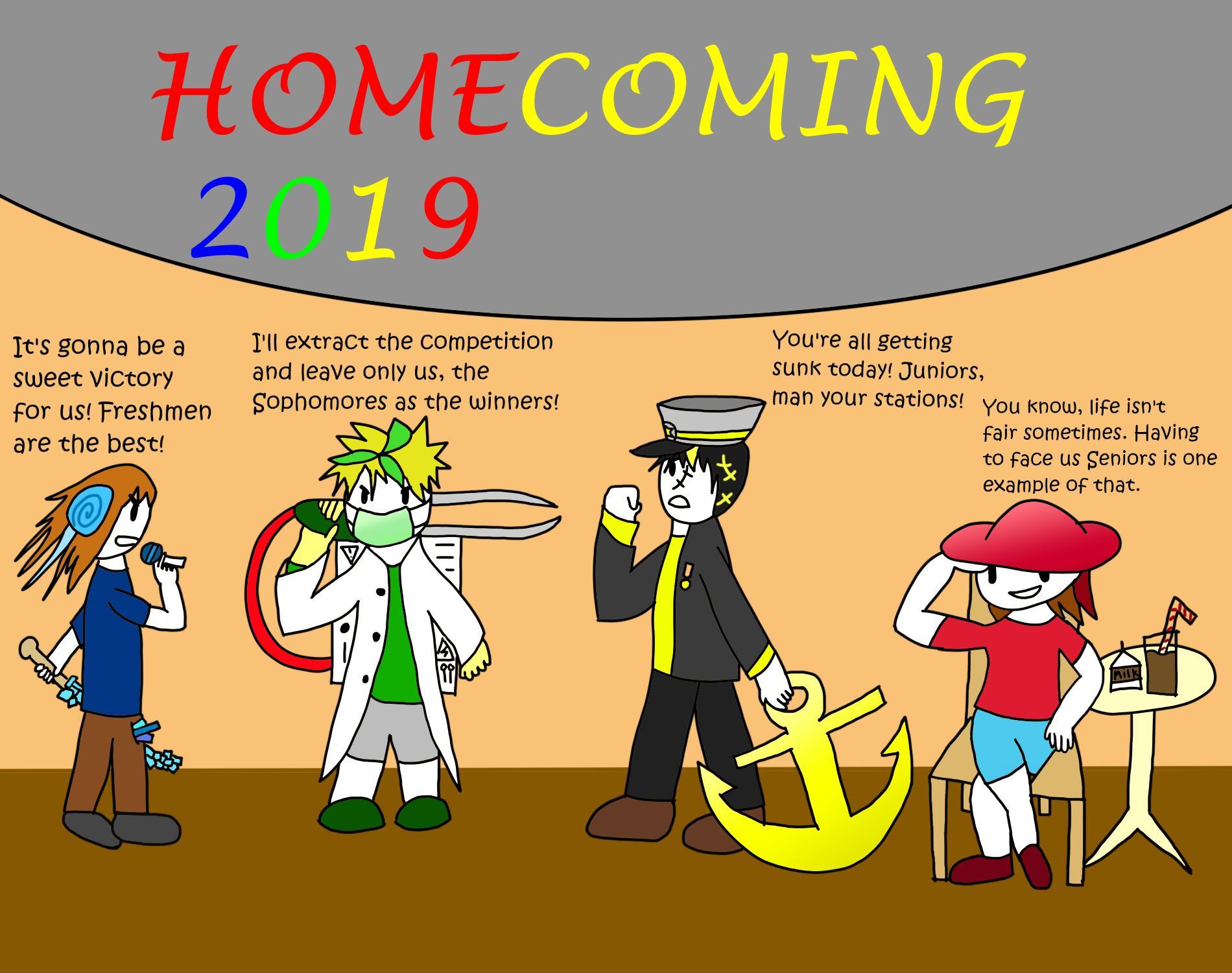 """Homecoming 2019"" by James Liu"